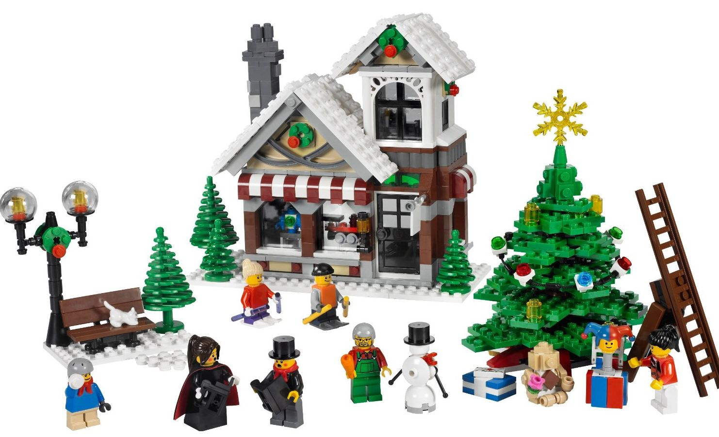 Toys For Winter : Winter village lego history book