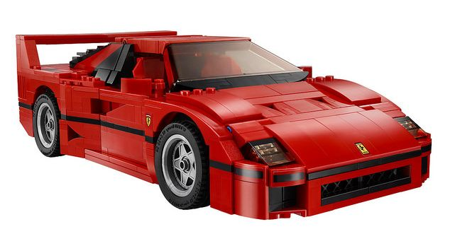 lego 10248 ferrari f40 i brick city. Black Bedroom Furniture Sets. Home Design Ideas