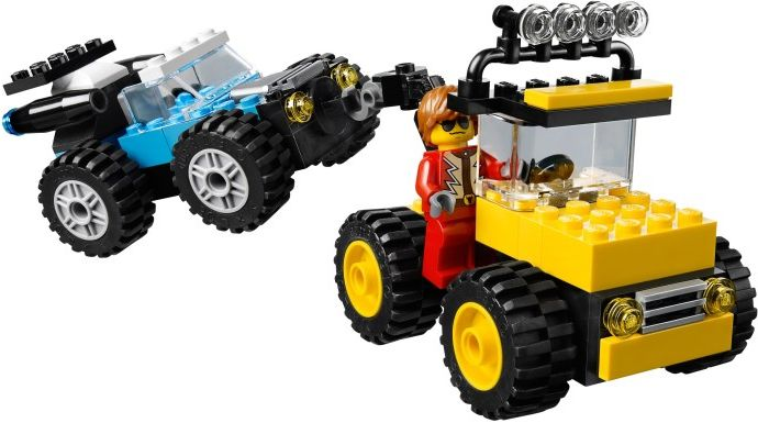 lego 10655 monster trucks i brick city. Black Bedroom Furniture Sets. Home Design Ideas