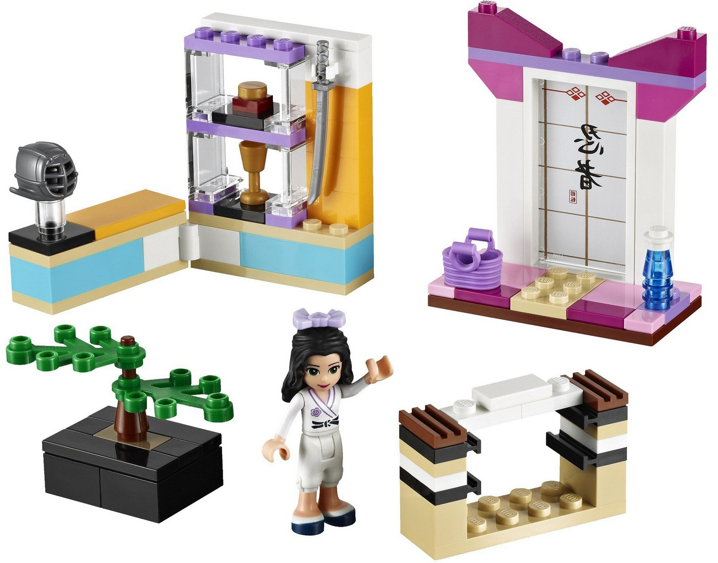Lego 41002 Emma S Karate Class I Brick City