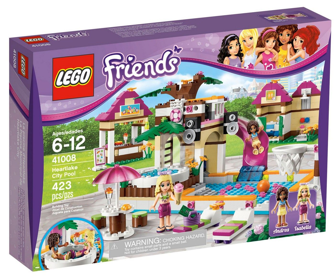 Lego 41008 Friends Heartlake City Pool I Brick City