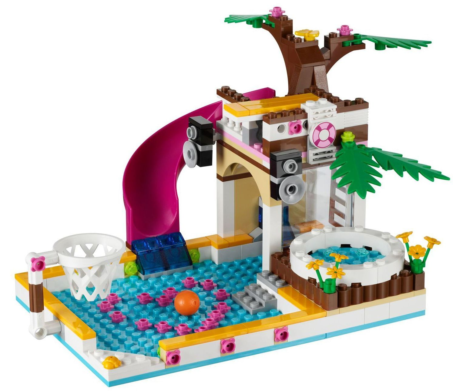 Lego Friends Heartlake City Pool 41008 Check Price Free Shipping Le ...