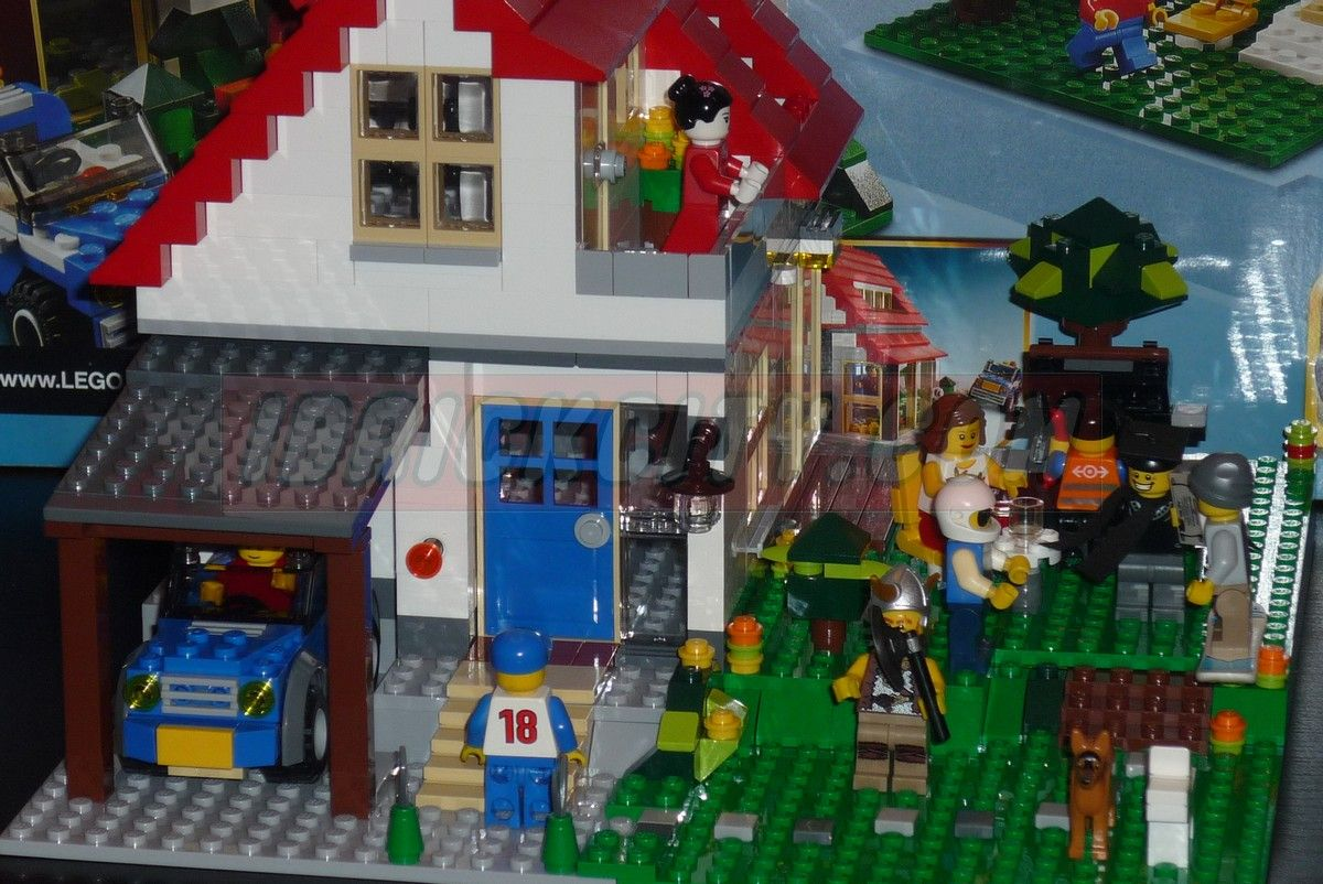 Pin lego creator hillside house jarrold pictures on pinterest for House creator