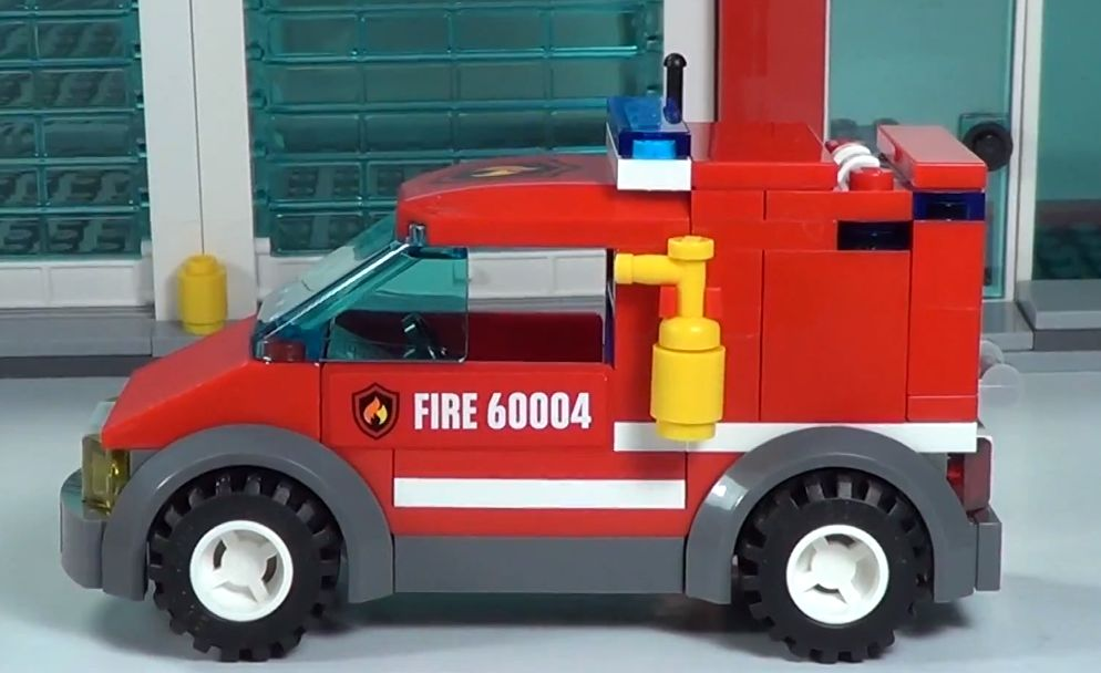 Lego 60004 City Fire Headquarters I Brick City