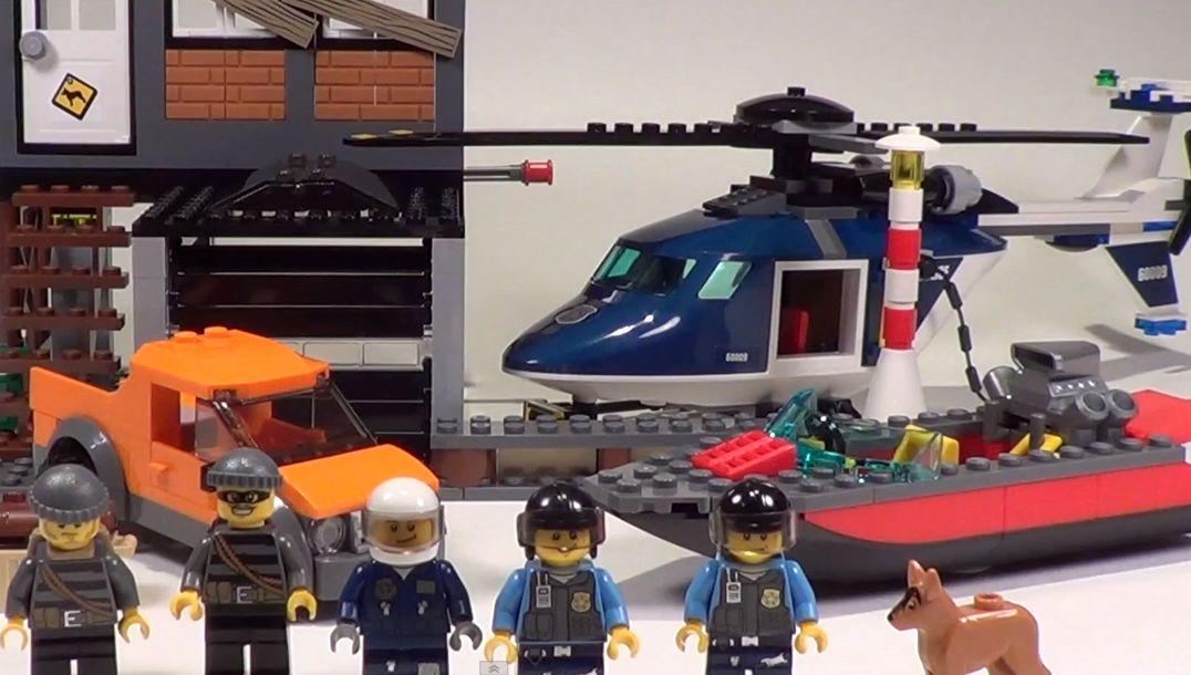 Lego 60009 City Helicopter Arrest I Brick City