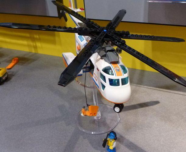 Lego 60013 Coast Guard Helicopter I Brick City