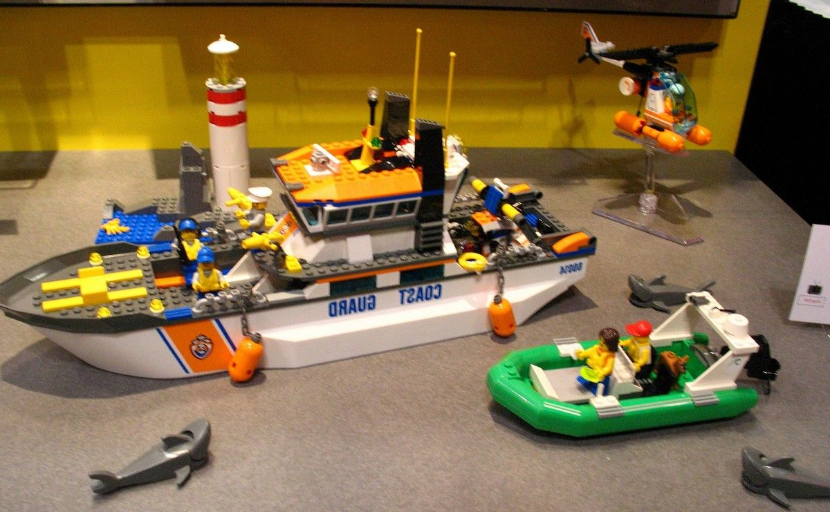 Lego 60014 coast guard patrol i brick city - Image lego city ...