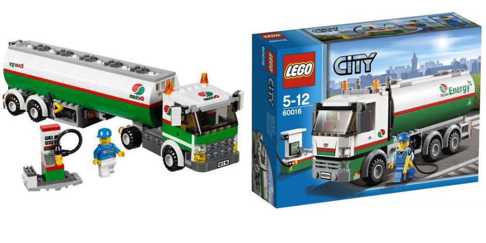 Lego 60016 City Tank Truck I Brick City