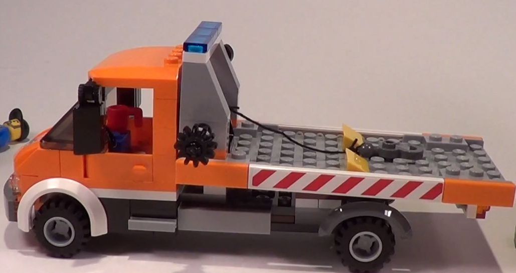 Lego 60017 City Flatbed Truck I Brick City
