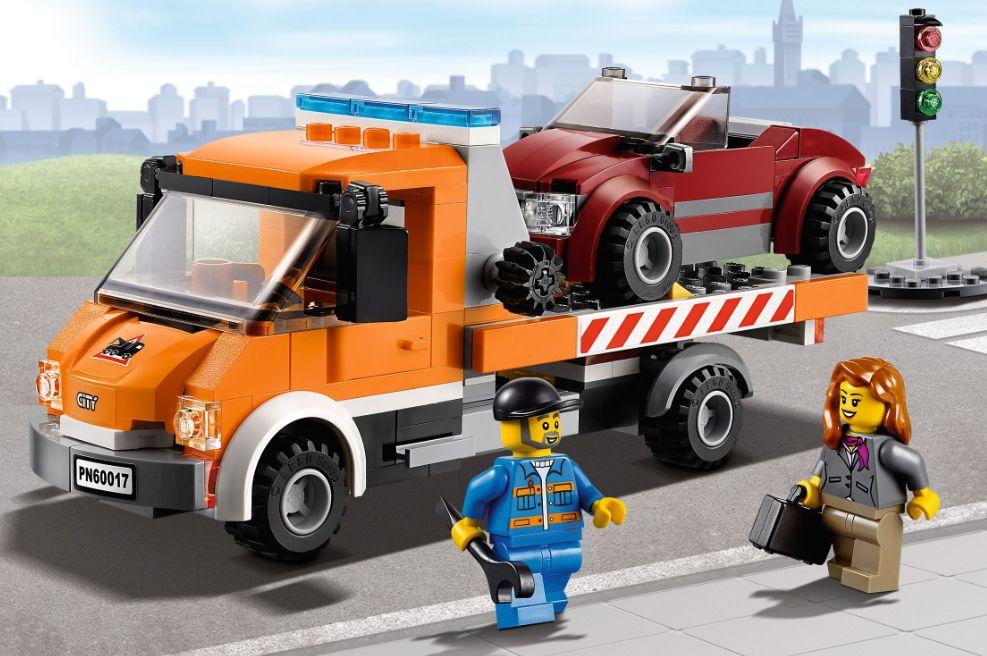 Lego 60017 City Flatbed Truck I Brick City