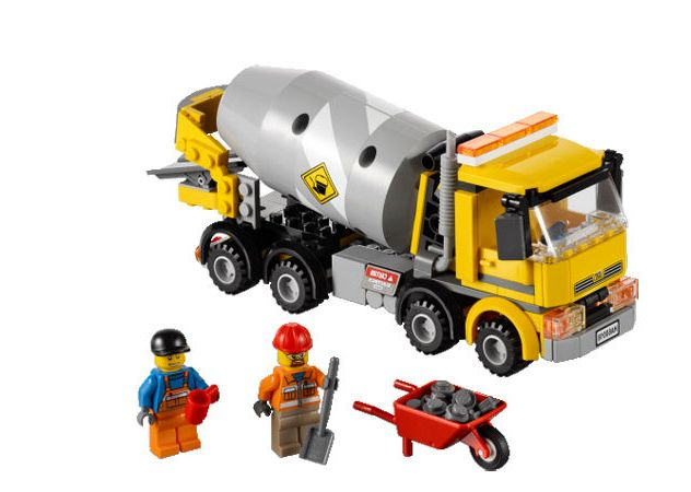 Lego City Cement Mixer 60018 Instructions
