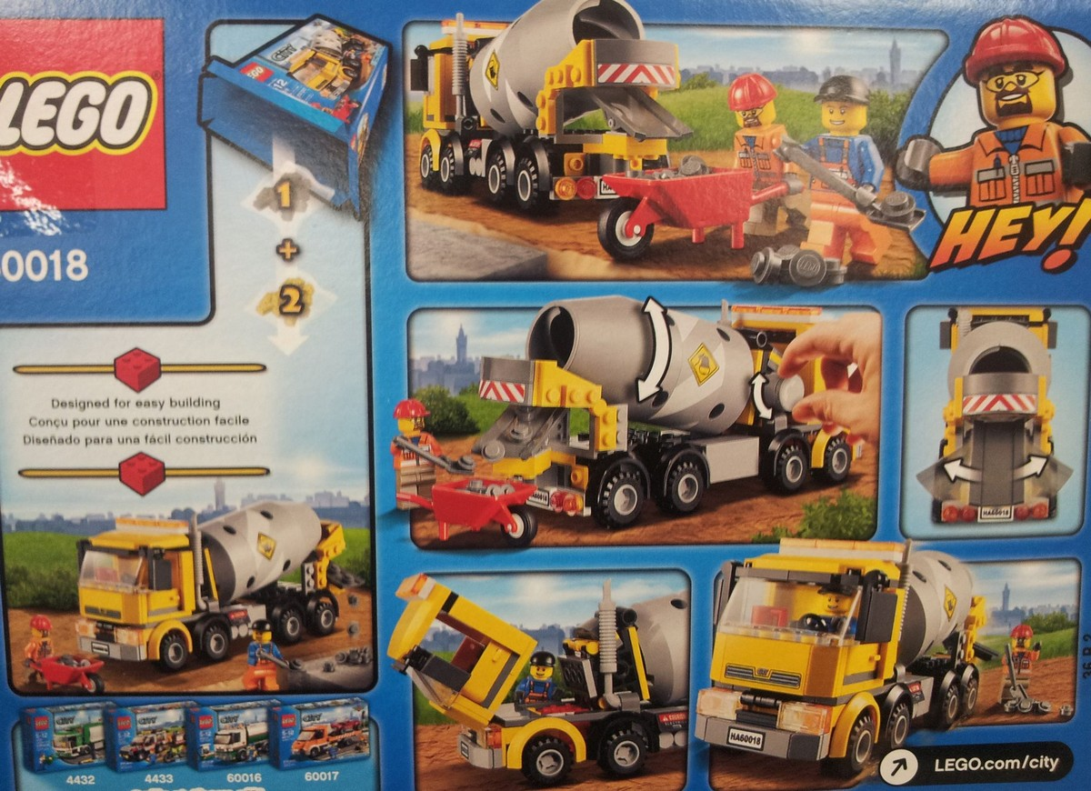 Lego 60018 City – Cement Mixer | i Brick City