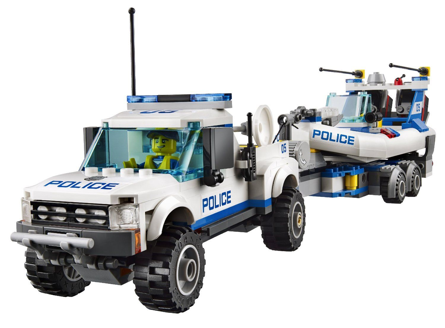 lego 60045 police patrol i brick city. Black Bedroom Furniture Sets. Home Design Ideas