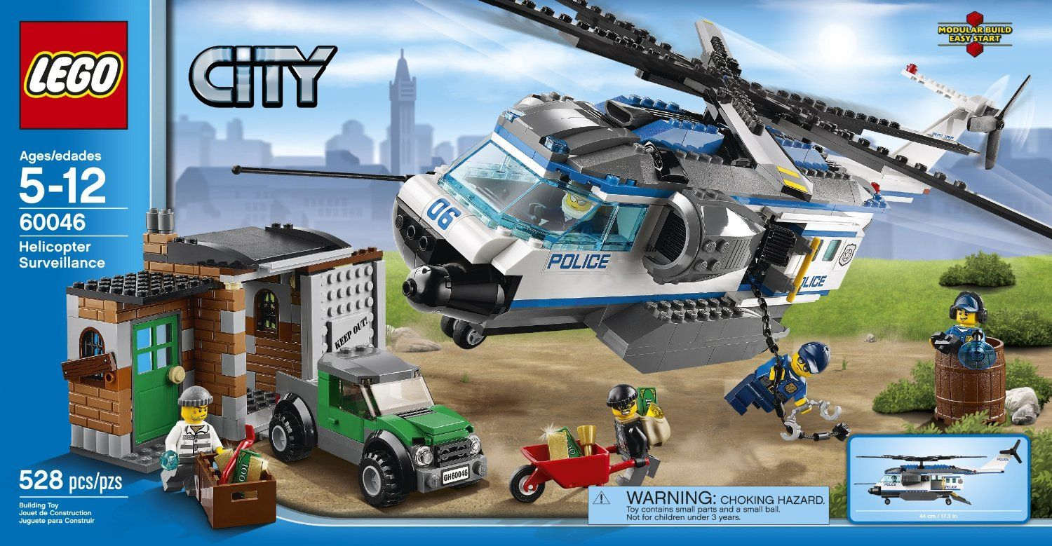 lego 60046 helicopter surveillance i brick city. Black Bedroom Furniture Sets. Home Design Ideas