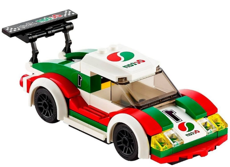 Lego 60053 race car i brick city - Voiture ninjago ...