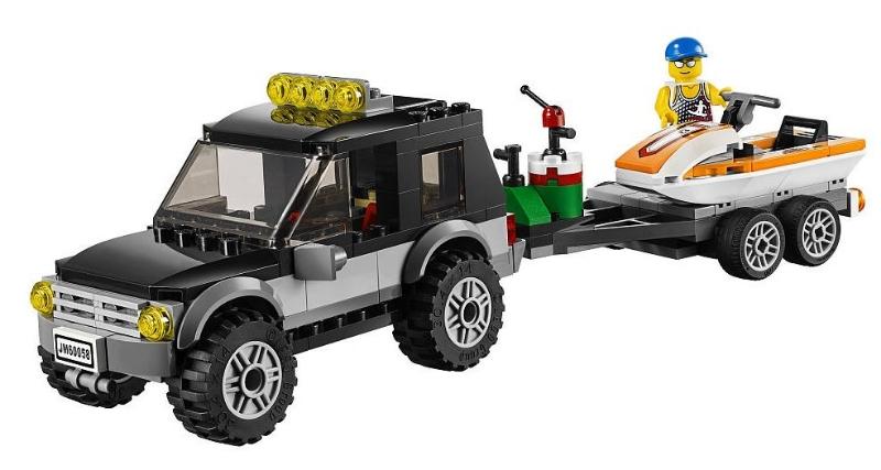 Lego 60058 suv with watercraft i brick city for Brick city motors reviews