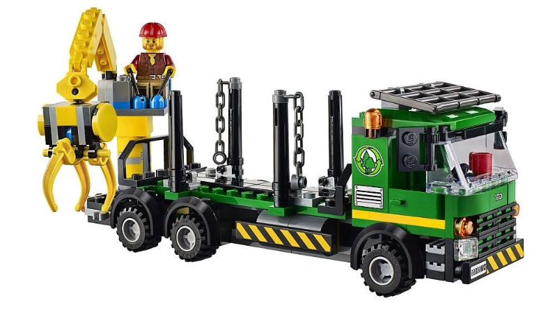 lego logging truck - photo #13