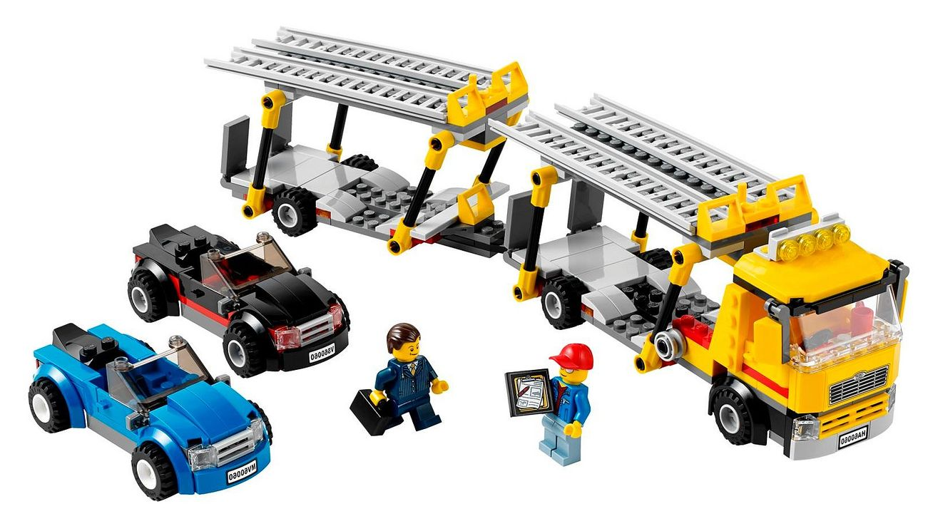 lego 60060 auto transporter i brick city. Black Bedroom Furniture Sets. Home Design Ideas
