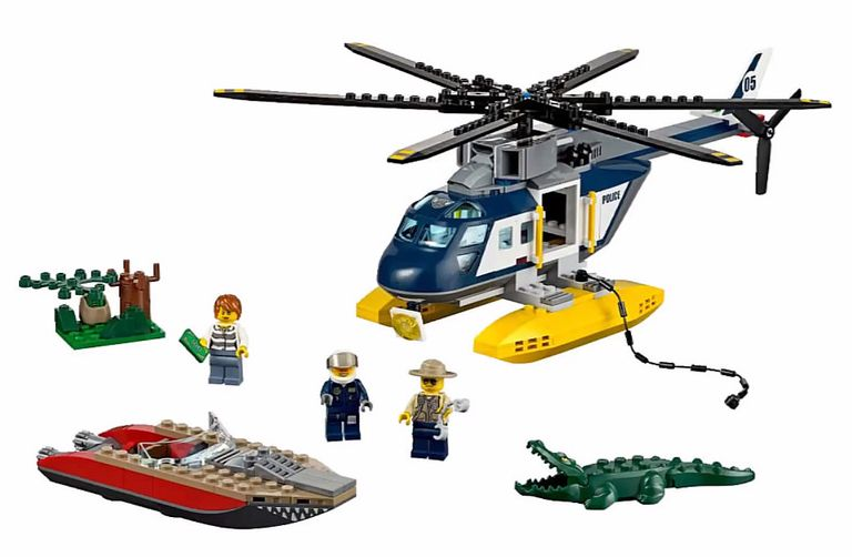 Lego 60067 Helicopter Pursuit I Brick City