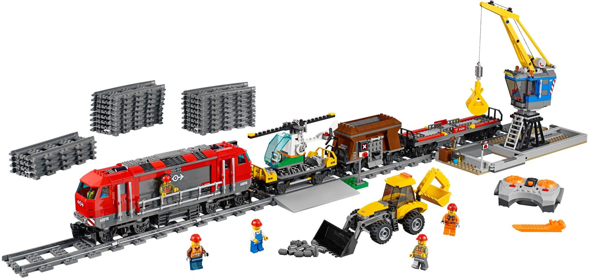 lego 60098 the heavy haul train official pictures i. Black Bedroom Furniture Sets. Home Design Ideas