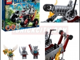 thumbs lego 70004 wakz pack tracker legends of chima ibrickcity 16 Lego 70004   Wakz Pack Tracker