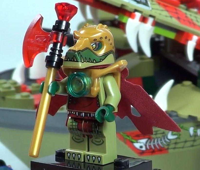 Lego Chima Cragger Minifigure Lego Chima Cragger
