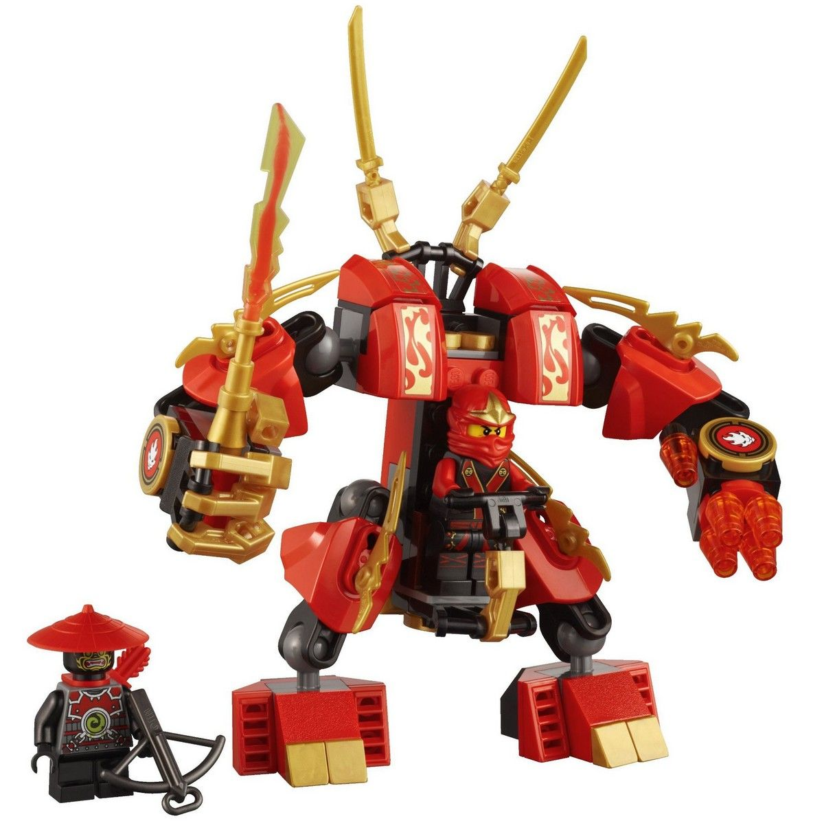 Lego 70500 kai 39 s fire mech i brick city - Ninjago lego kai ...