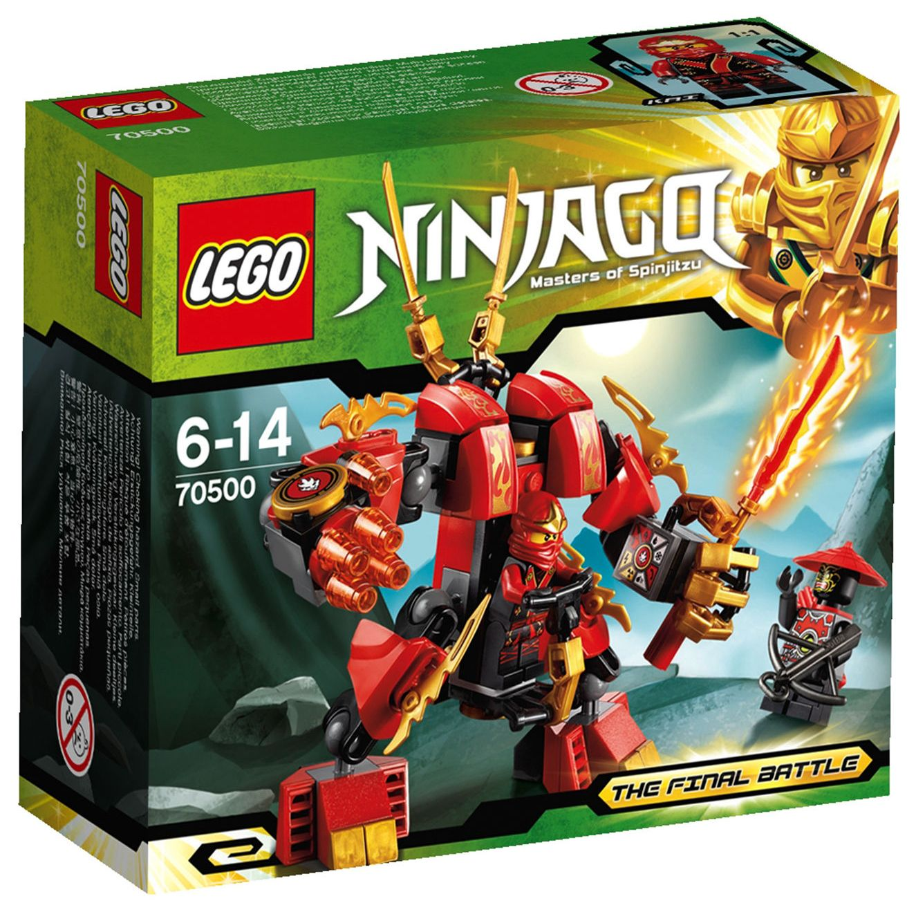 Lego 70500 – Kai\'s Fire Mech | i Brick City
