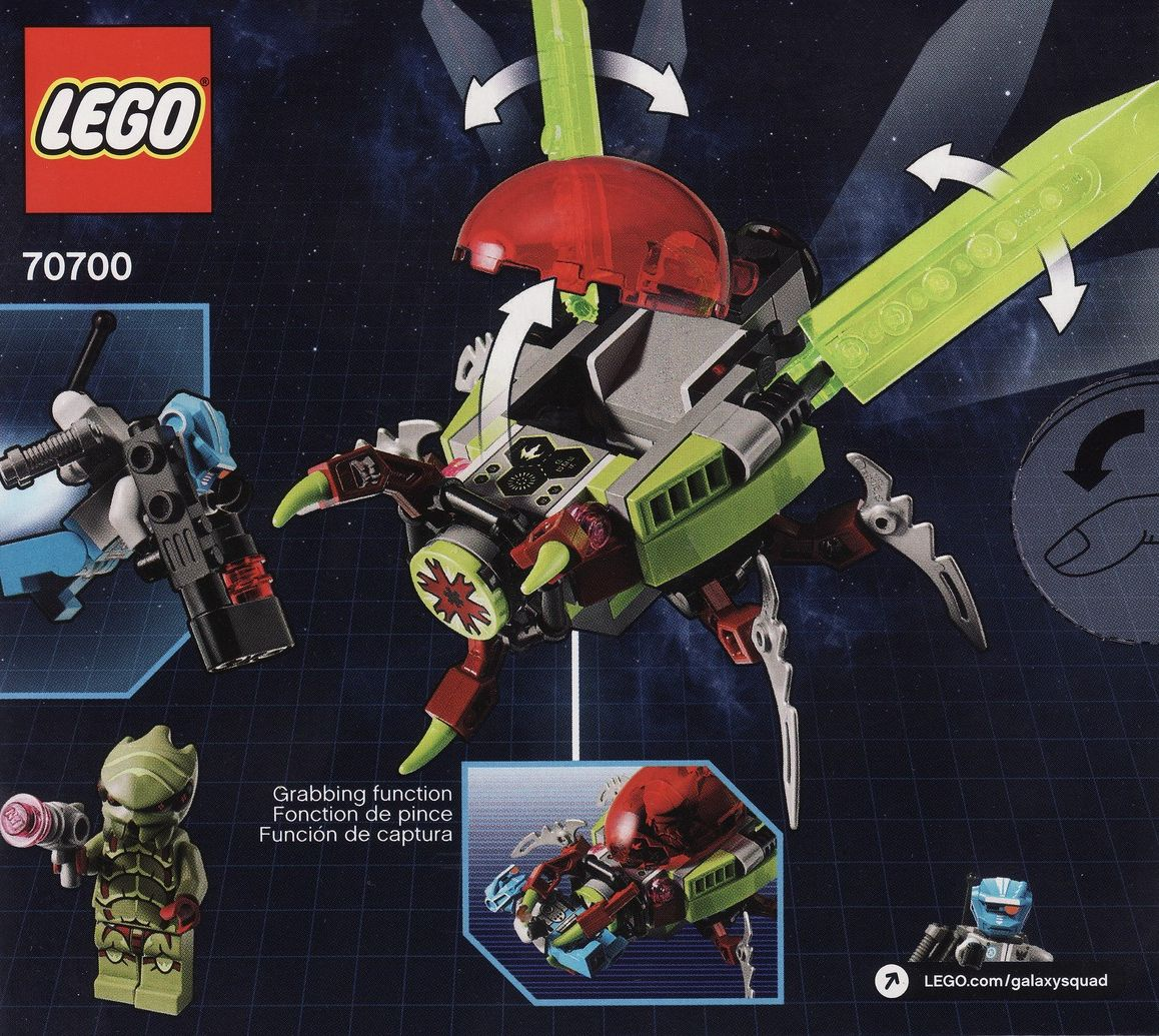 Lego 70700 Galaxy Squad – Space Swarmer | i Brick City
