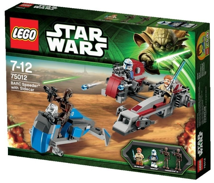 Lego 75012 Barc Speeder With Sidecar I Brick City Part 22
