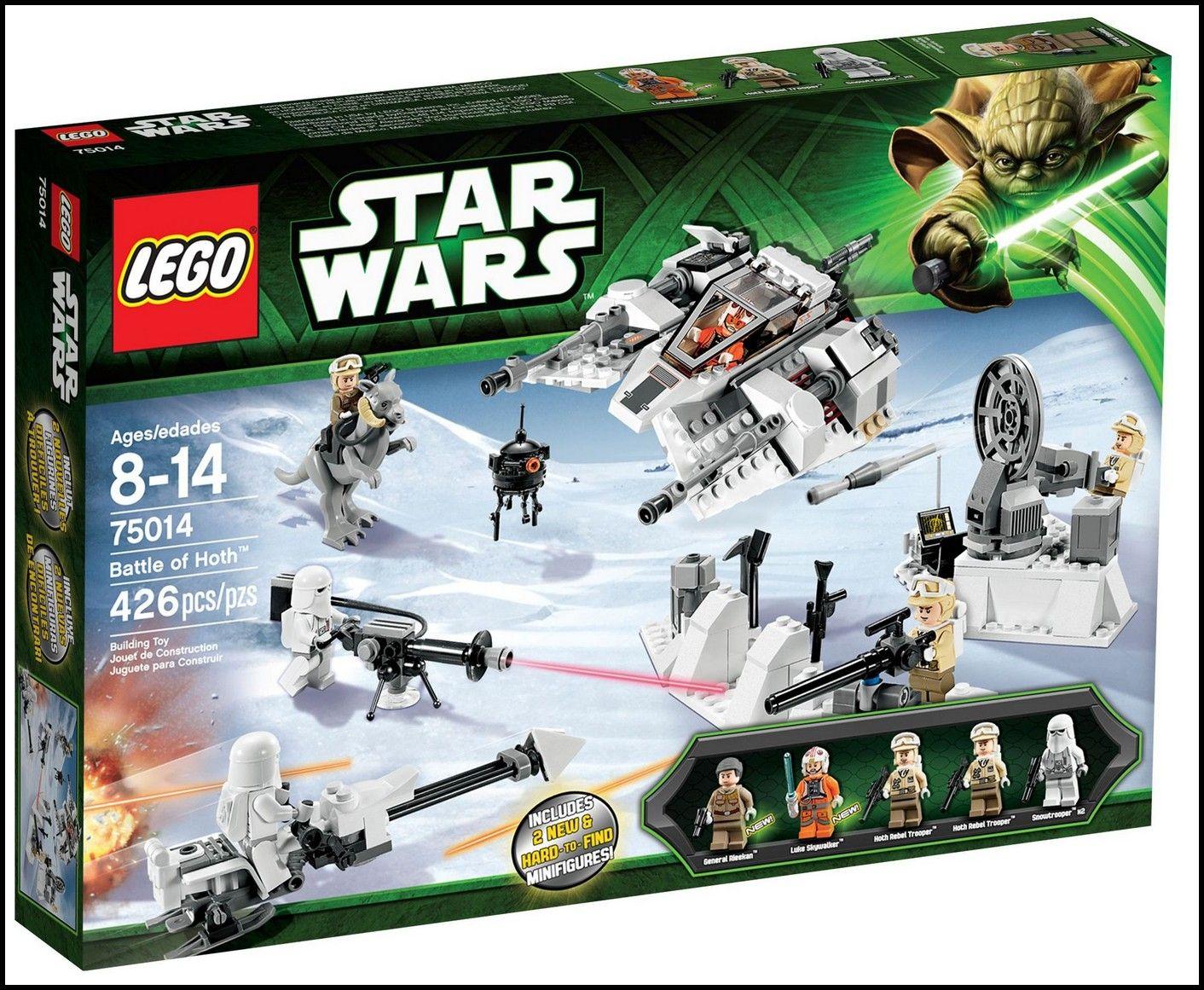 Lego 75014 star wars battle of hoth i brick city - Bd lego star wars ...