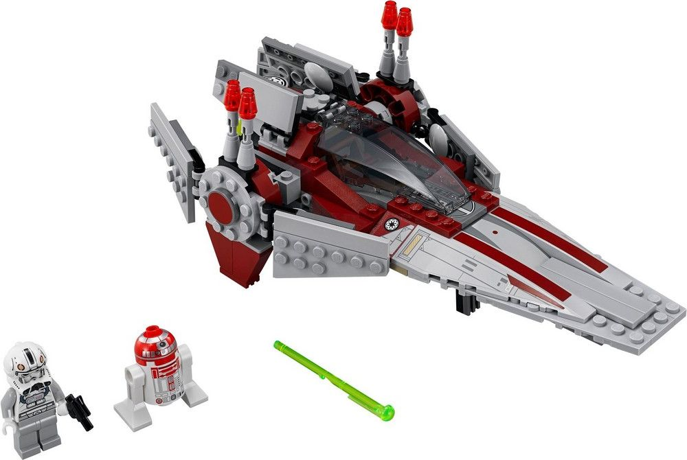 Star Wars V Wing Lego Instructions