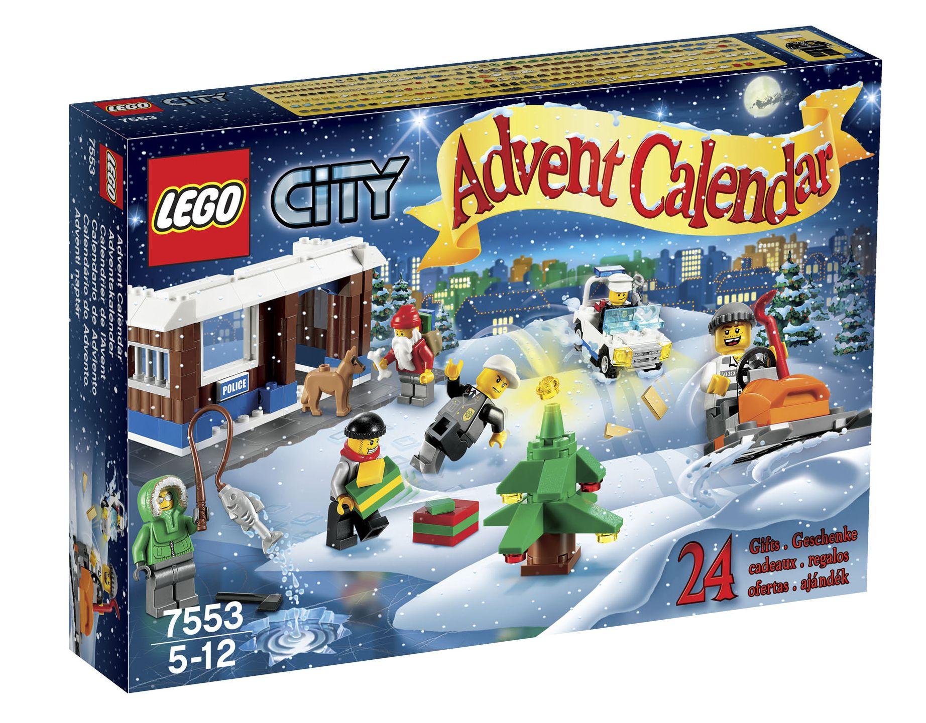 Advent Calendar Lego : Lego city advent calendar i brick