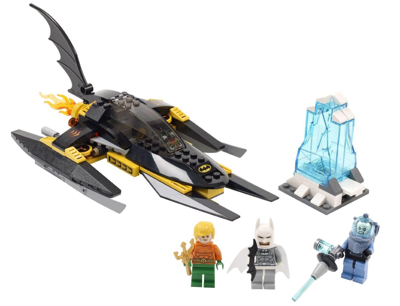 how to break free of mr freezes ice lego batman