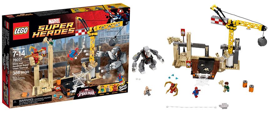Lego Spiderman Sandman   www.pixshark.com - Images ...
