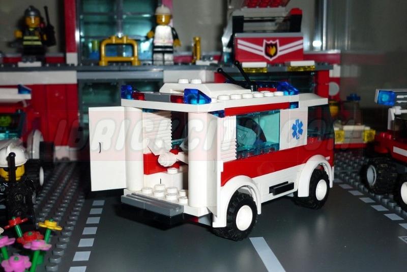 Lego 7890 Ambulance I Brick City