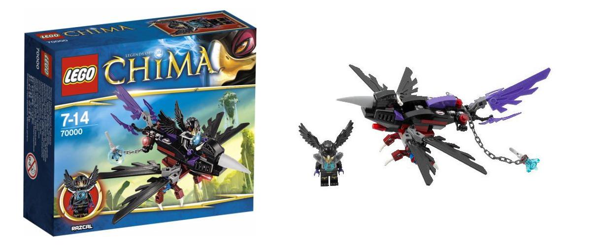 Lego Chima Ravens Legends of Chima 2013 Lego