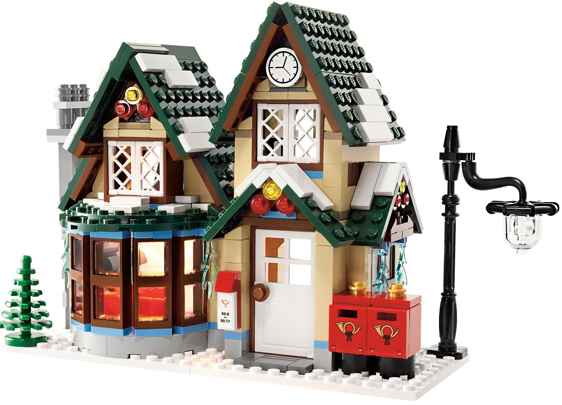 Lego Seasonal 10222 Winter Village Post Office I Brick City