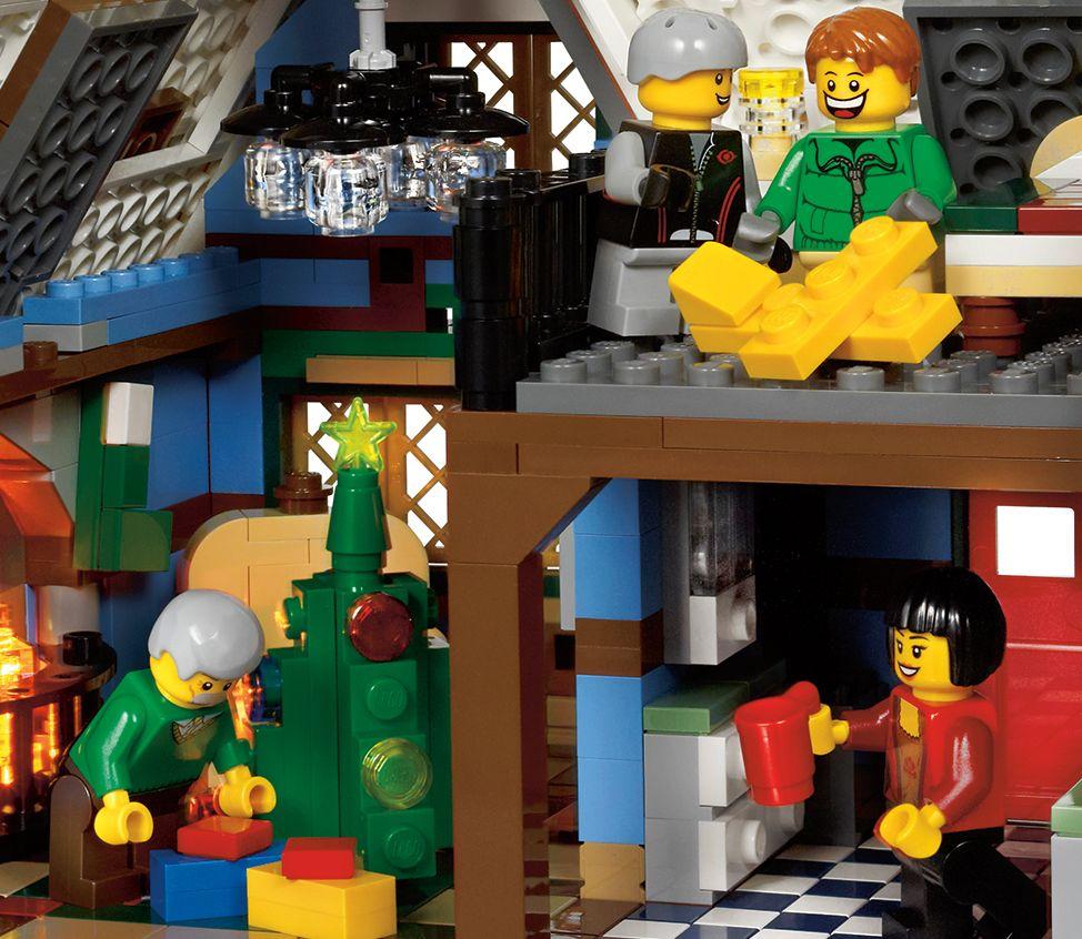 lego 10229 winter village cottage i brick city LEGO 10229 LEGO Creator Winter Village Cottage 10229 Christmas