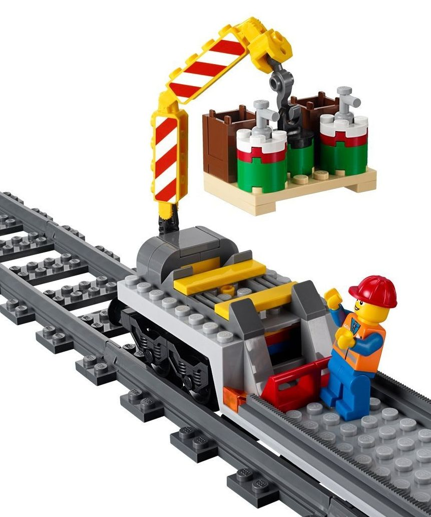 Lego City Cargo Train Ebay