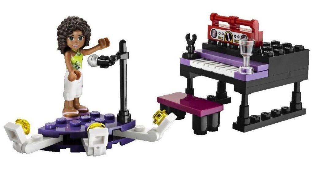 Lego Friends 3932 Andrea S Stage I Brick City