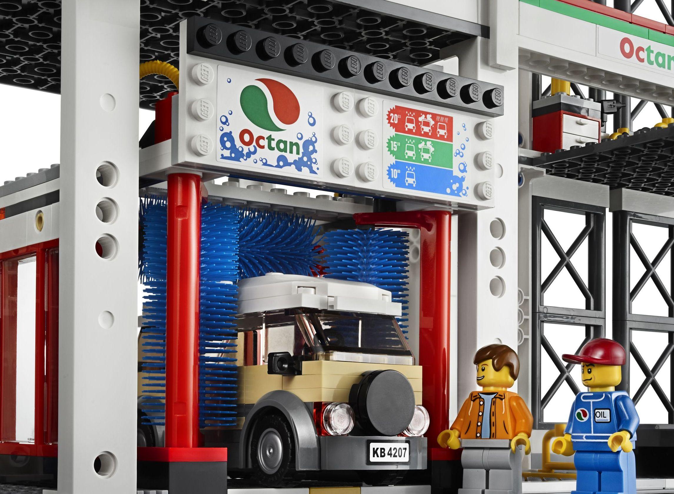 Lego City 4207 Garage Car Parking Released I Brick City