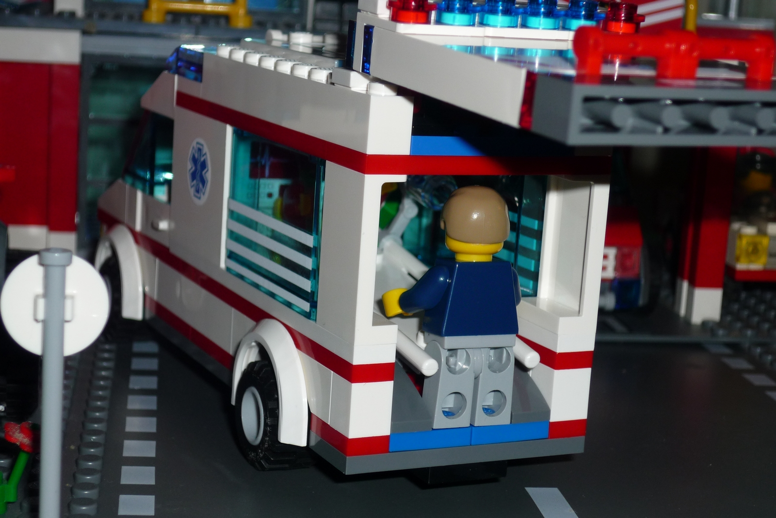 lego city air ambulance rescue plane instructions