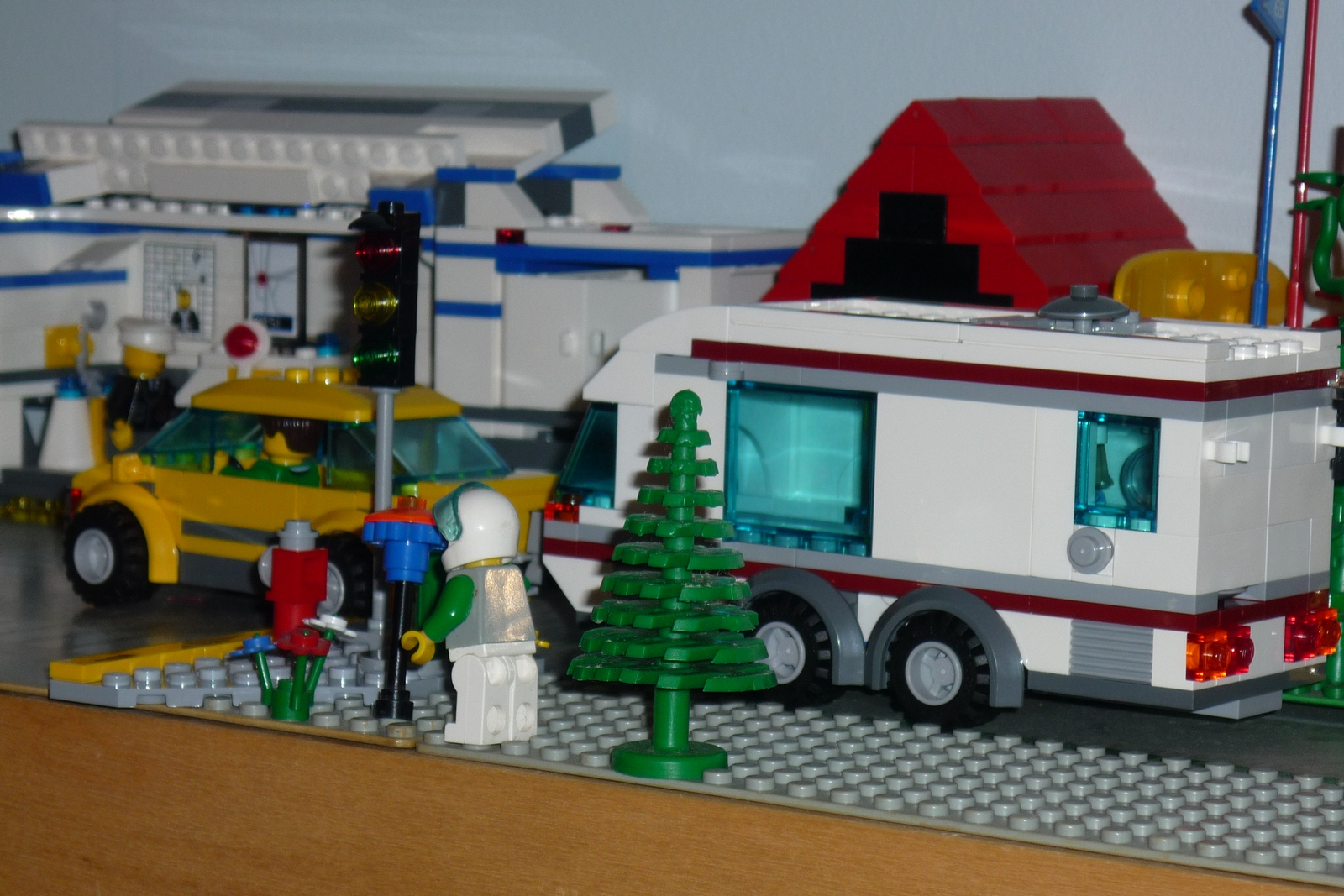 Elegant Serene Beachside RV Park Or A LEGO RV Collection