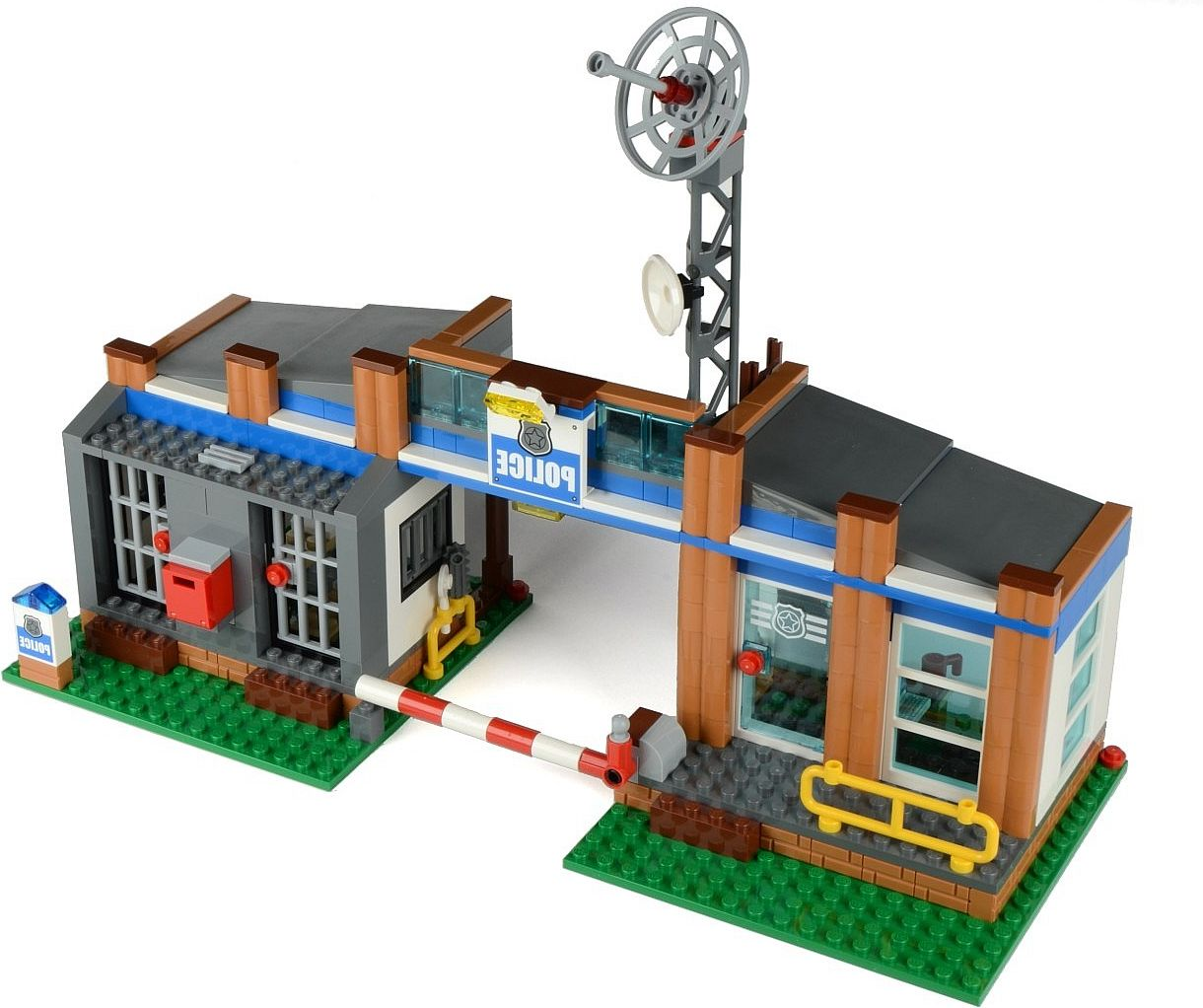 Lego city forest police station 4440 instructions