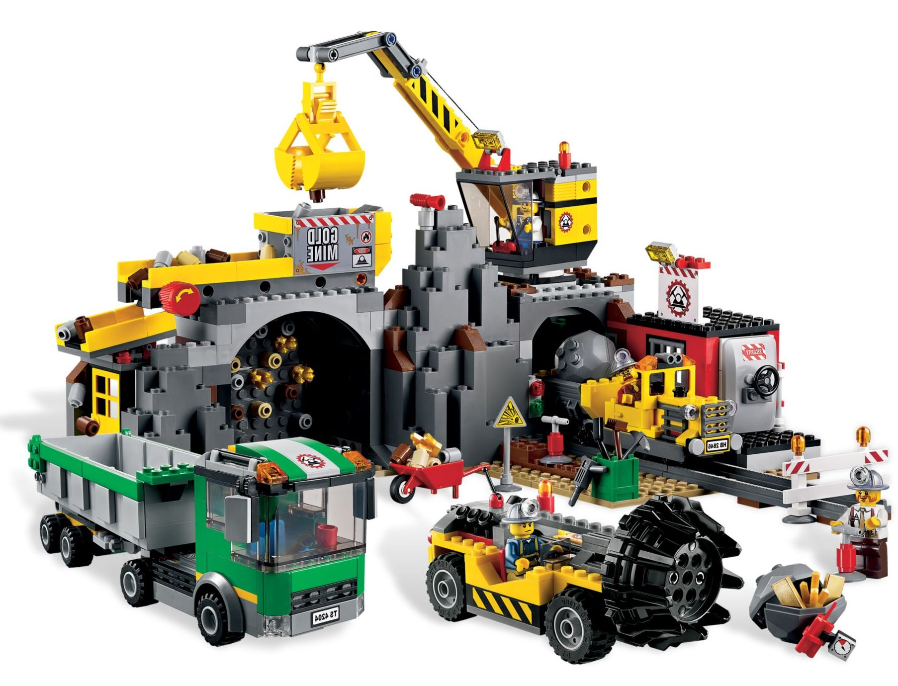 lego city 5001134 mining collection pack i brick city. Black Bedroom Furniture Sets. Home Design Ideas