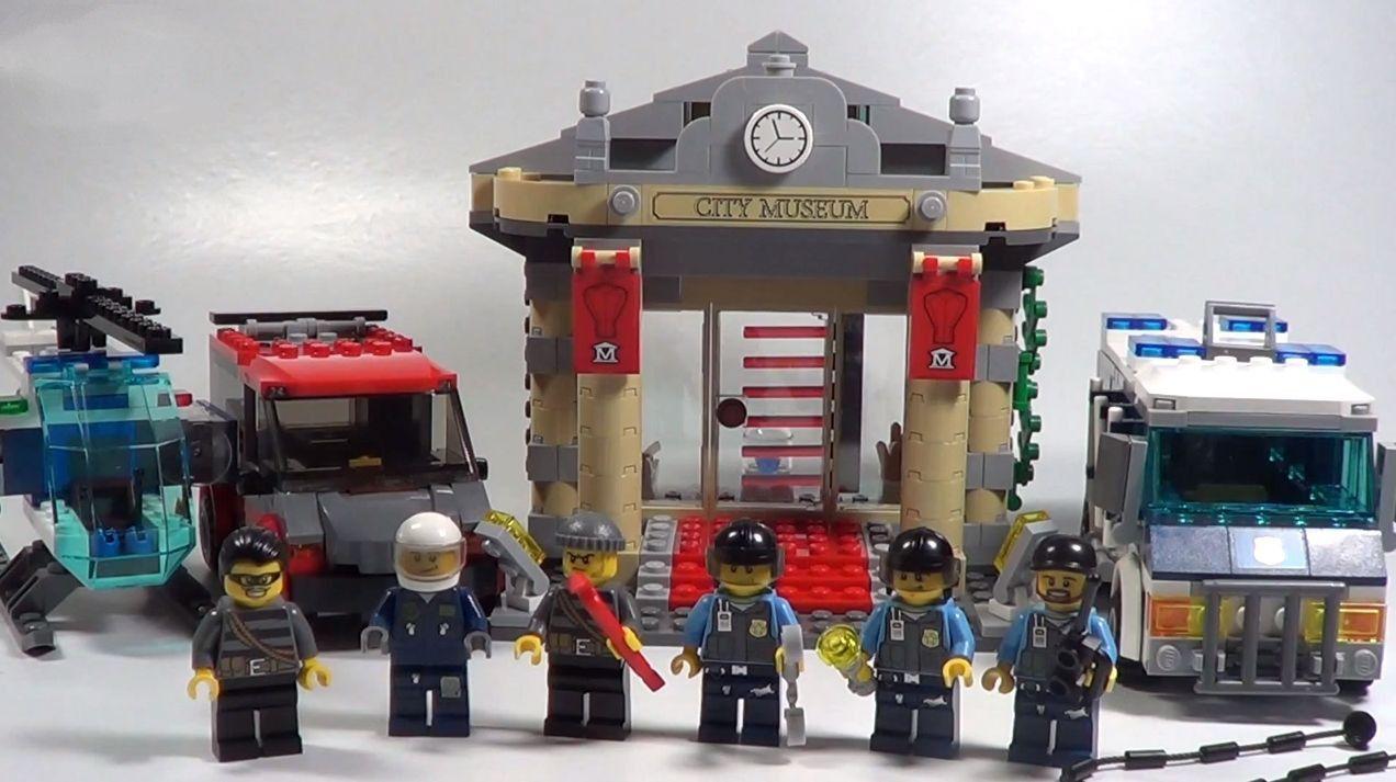 Lego 60008 City – Museum Break-in | i Brick City