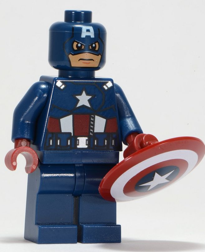 Lego super heroes 6865 captain america 39 s avenging cycle i brick city - Lego capitaine america ...