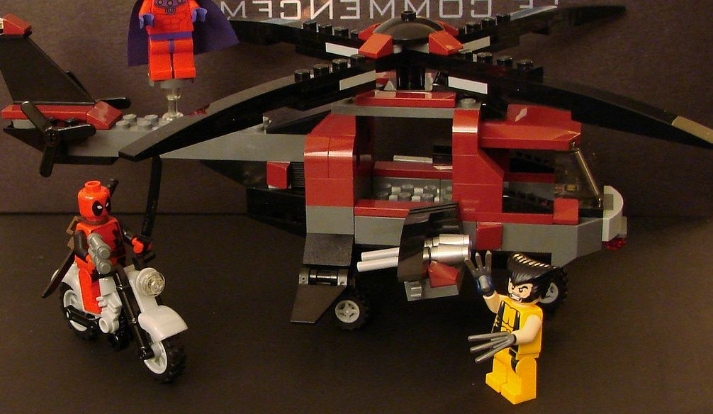 Lego Wolverine Chopper Showdown Instructions Image Collections