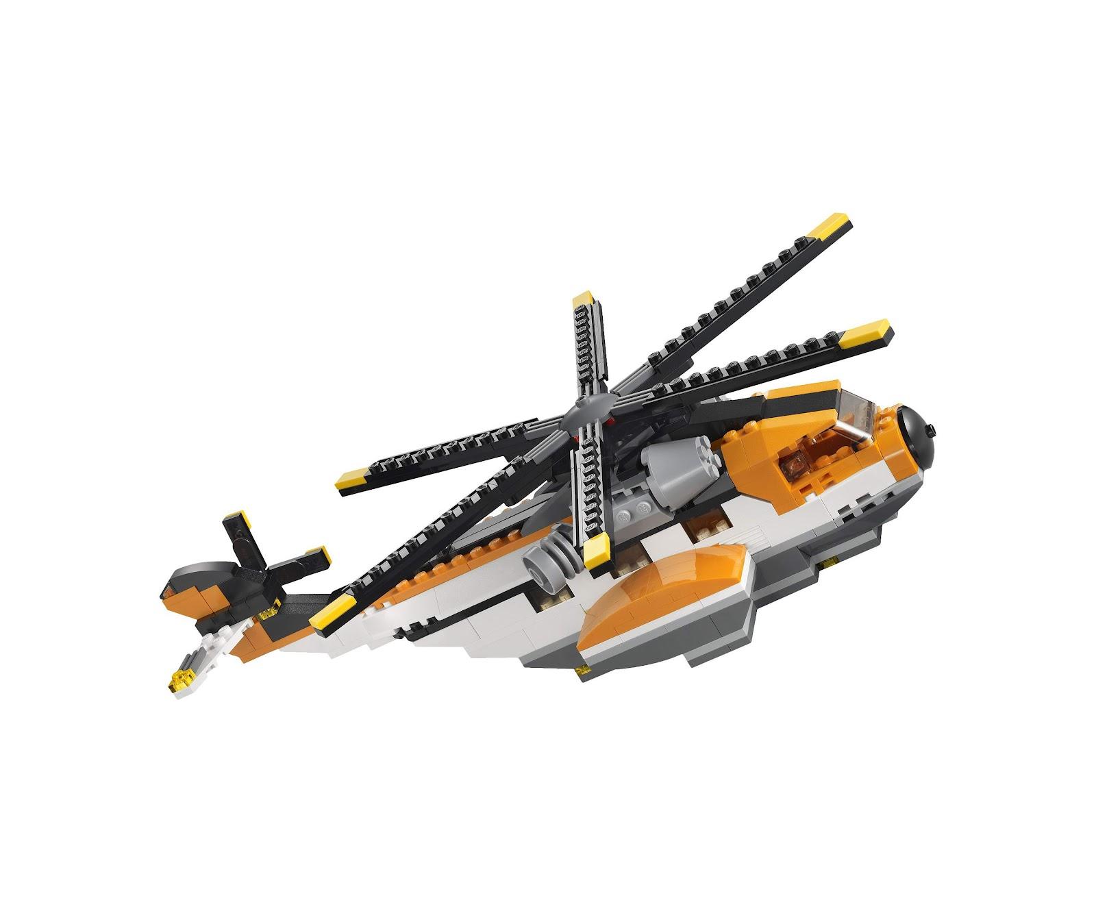 Lego 7345 Creator Transport Chopper I Brick City